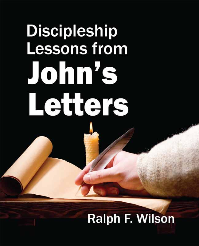 Discipleship Lessons from John's Letters (front cover)