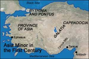 Asia Minor in the First Century