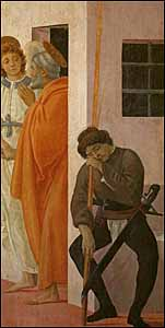 St. Peter knew something about suffering persecution and experiencing God's grace in the midst of it. 'St. Peter Freed from Prison,' by Florentine painter Filippino Lippi (1457-1504), fresco, 230 x 88 cm, Cappella Brancacci, Santa Maria del Carmine, Florence.