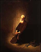 Rembrandt, Peter in Prison