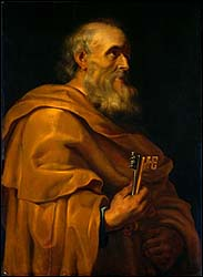 St. Peter from the Studio of Ruebens