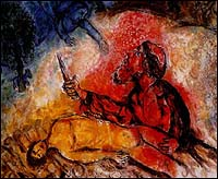 Marc Chagall, Abraham Slaying Isaac