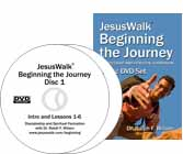 JesusWalk: Beginning the Journey book and DVD set