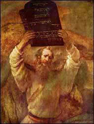 Rembrandt, Moses with the Tablets (1659)