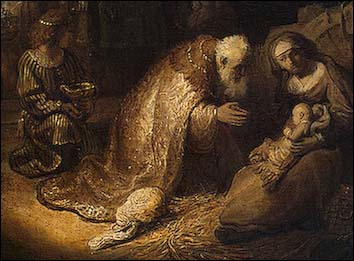 Rembrandt, Adoration of the Magi (1632)