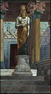 James J. Tissot, 'The Statue of Nebuchadnezzar' (1896-1903), The Jewish Museum, New York.