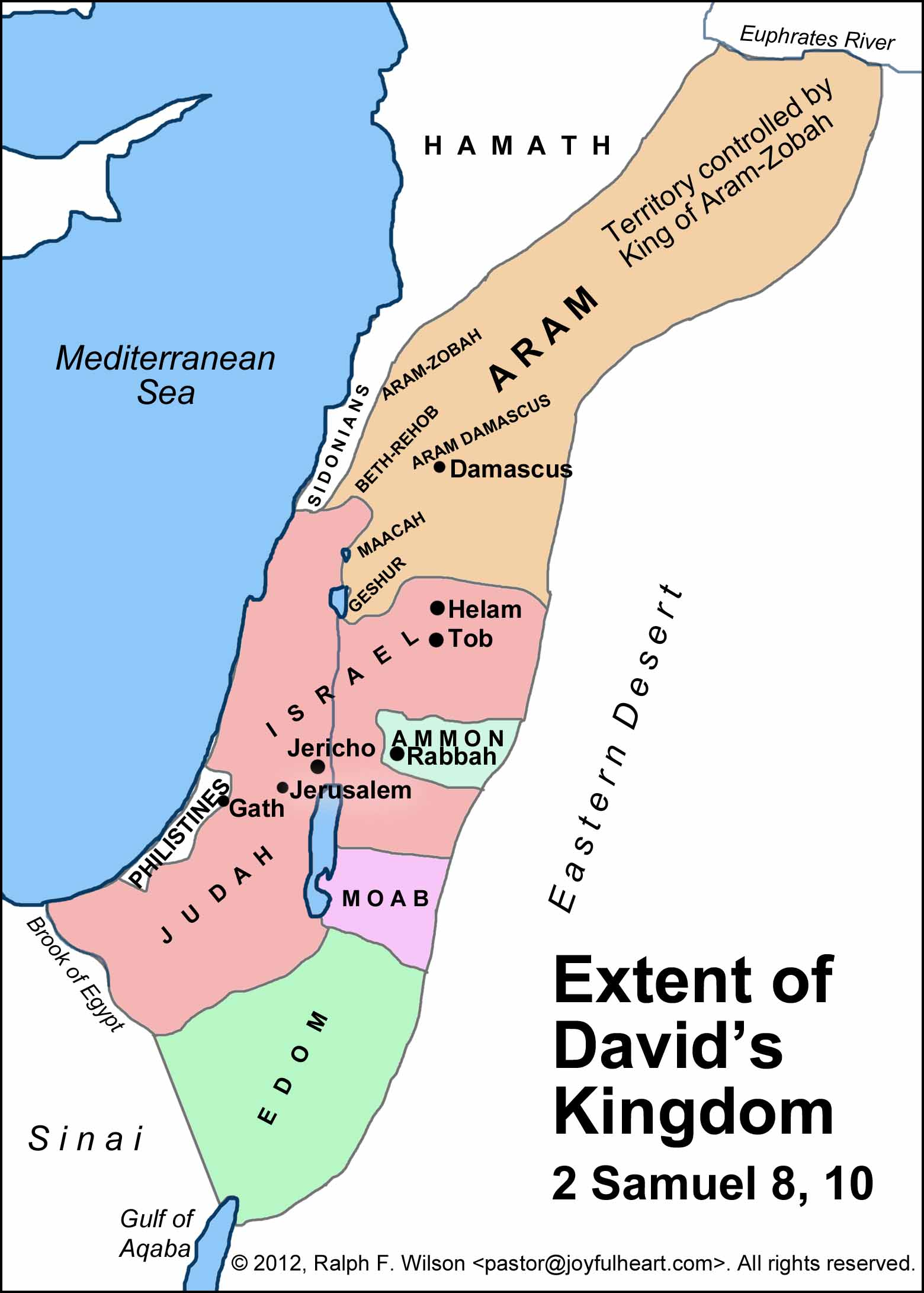 Who Anointed David King The First Time Extent Of Davids Kingdom X