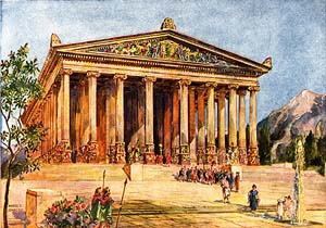 Temple of Artemis, by Harold C. Oakley