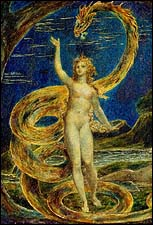William Blake, Eve tempted by the serpent (1799-1800)
