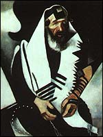 Marc Chagall, The Praying Jew (1923)