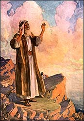 Moses Praying by JH Hartley (1922)
