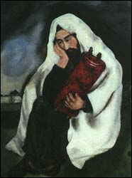 Solitude by Marc Chagall (1933)