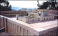 Holyland Hotel model of Herod's Temple