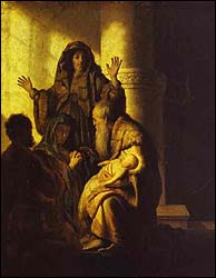 Rembrant, The Presentation of Jesus in the Temple