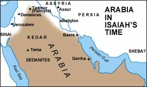 Arabia in Isaiah's Lifetime