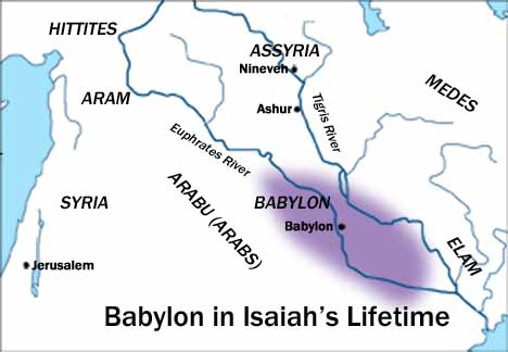Babylon in Isaiah's Lifetime.