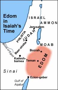 Edom in Isaiah's Time