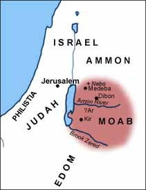 Moab in Isaiah's time.