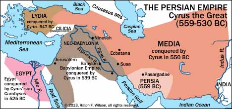 The Persian Empire under Cyrus the Great