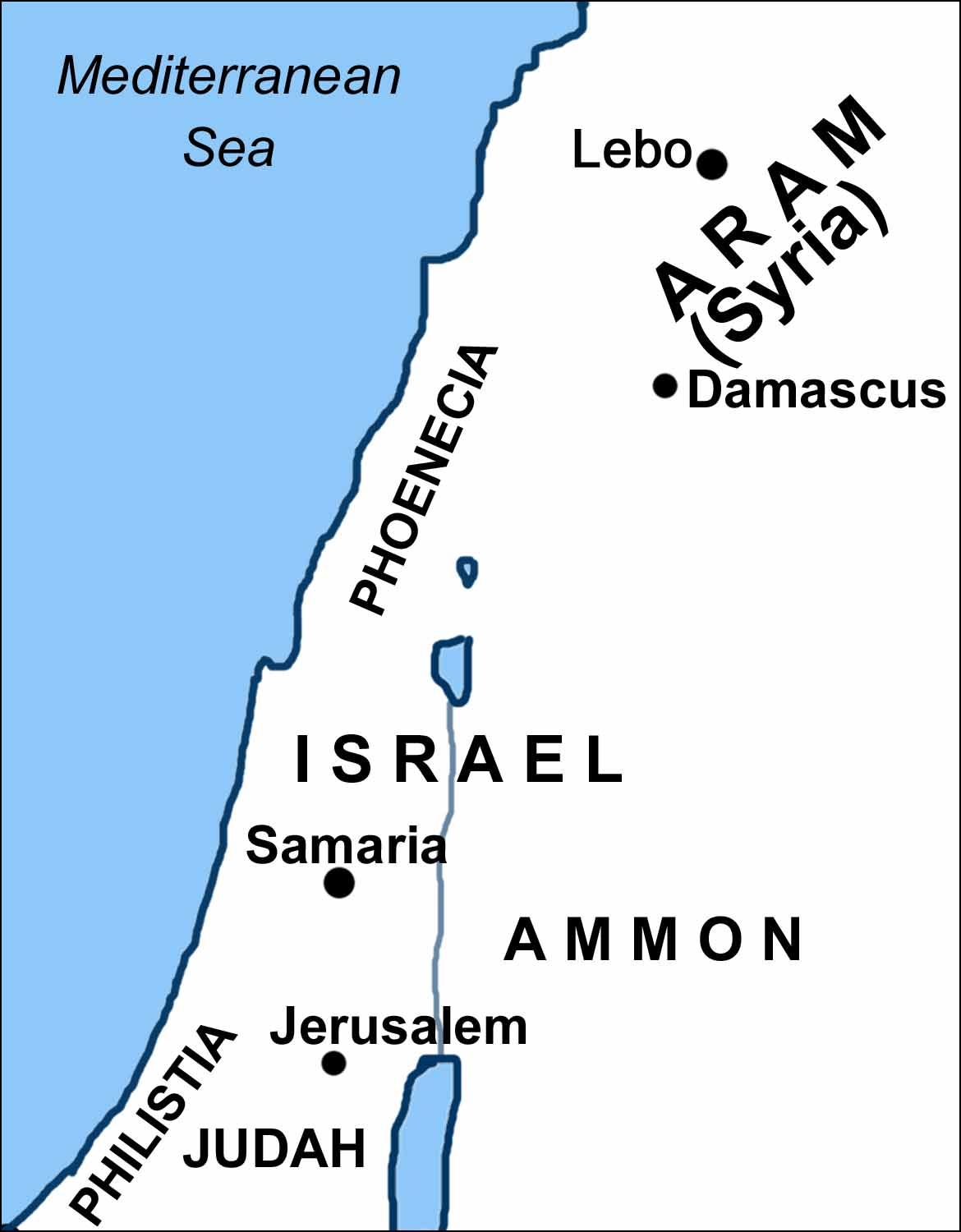 Maps Covering the Periods of Isaiah's Prophecies on aerial view of biblical israel, 10 years in israel, biblical lands of israel, printable outline map of israel, elevation of jerusalem israel, geography of biblical israel, original boundaries of israel, printable map of modern israel, old testament maps of israel, printable map of israel today, topological map israel,