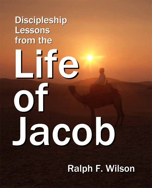 Discipleship Lessons from the Life of Jacob, front cover