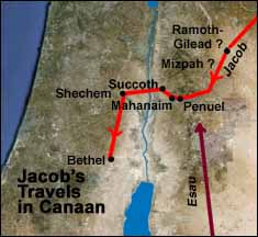 Jacob's Travels in Canaan