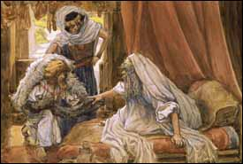 Tissot, Jacob Deceives Isaac