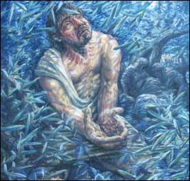 Ian McKillop, �Jesus� High Priestly Prayer,� Gethsemane series. Permission requested.