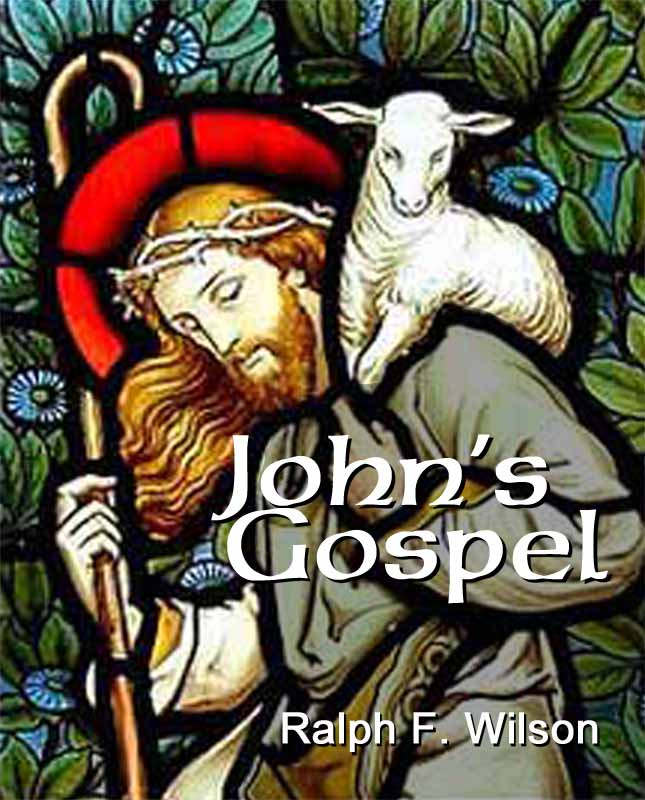 John's Gospel: A Discipleship Journey with Jesus (front cover)