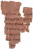 Papyrus 52, John Rylands Library