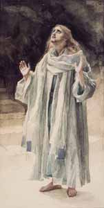 James J. Tissot, 'St. John the Evangelist' (1886-94) gouache on paper, Brooklyn Museum, New York