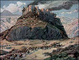 James J. Tissot, 'The Conquest of the Amorites, as in Numbers 21:25' (1896-1902), gouache on board, The Jewish Museum, New York.