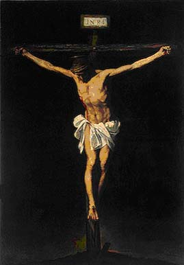 Alonso Cano, 'The Crucifixion' (ca. 1640)