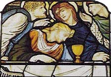 Edward Burne-Jones and Charles Fairfax Murray, Last Supper, Christ Church
