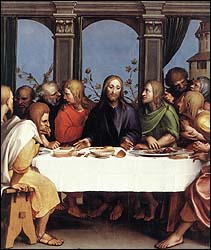 Hans Holbein the Younger, The Lord's Supper (1524-25)