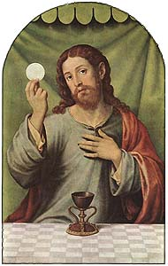 Juan de Juanes, Christ with the Chalice