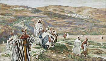 James J. Tissot, 'He Sent Them Out Two by Two' (1886-94)