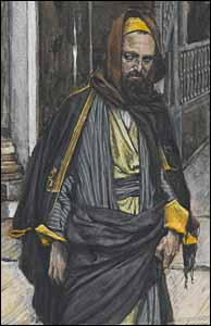 James J. Tissot, detail of 'Judas Goes to Find the Jews' (1886-94)