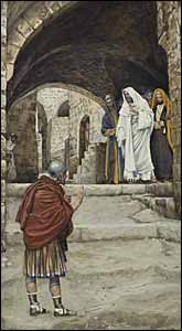 James J. Tissot, 'Lord, I Am Not Worthy' (1886-94),