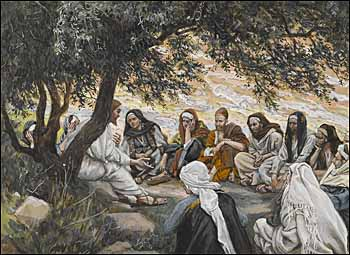 James J. Tissot, 'The Exhortation to the Apostles' (1886-94)