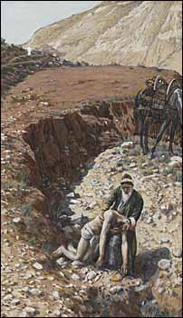 James J. Tissot, 'The Good Samaritan' (1886-94)