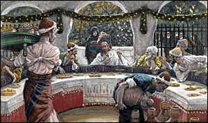 James J. Tissot, 'The Meal in the House of the Pharisee' (1886-94)