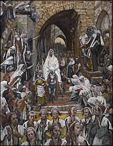 James J. Tissot, 'The Procession in the Streets of Jerusalem' (1886-94)