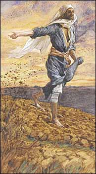 James J. Tissot, 'The Sower' (1886-94)