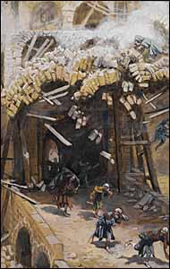 James J. Tissot, 'The Tower of Siloam' (1886-94)
