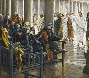 James J. Tissot, detail of 'Woe unto You, Scribes and Pharisees' (1886-94)