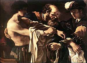 Guercino, 'Return of the Prodigal Son' (1619)