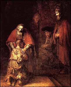 Rembrandt, 'The Return of the Prodigal Son' (c. 1669)