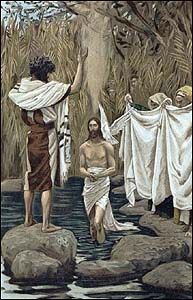 James J. Tissot, The Baptism of Jesus