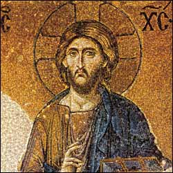 Christ Pantocrator, Hagia Sophia (1185-1204)